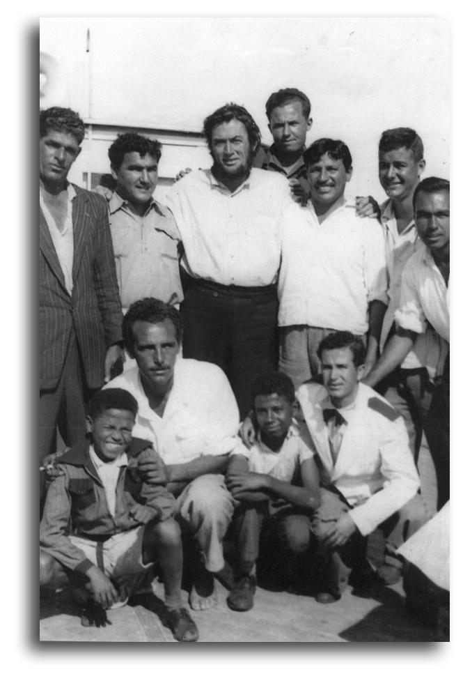 Rodaje en Canarias de Moby Dick (John Huston, 1956): Un insuperable regalo de Navidad (3/6)
