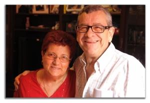 Manuel Medina y su mujer Fefa