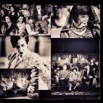 """Collage de fotografías de """"Blancanieves"""", de Pablo Berger."""