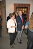Mauro Fernández y su mujer, Malula, durante la inauguración de La Memoria Encendida en La Palma.