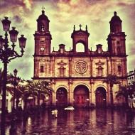 Catedral de Las Palmas de Gran Canaria, en la plaza Santa Ana.