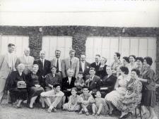 La familia Medina en La Paterna en 1961