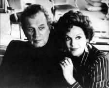 Joseph Cotten y Patricia Medina, años setenta