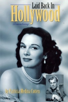 "Portada de ""Laid Back in Hollywood. Remembering"", autobiografía de Patricia Medina."