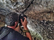La colosal explosión dejó fósiles en otras cuevas de la zona. LUIS ROCA ARENCIBIA