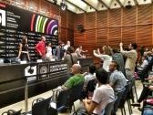 """Empieza la rueda de prensa de """"La herida"""". LUIS ROCA ARENCIBIA"""