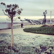 Árbol, corredor, Tritón y chimenea. Foto: LUIS ROCA ARENCIBIA