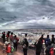 Las vistas desde El Vigía son el primer tesoro de La Isleta. / LUIS ROCA ARENCIBIA