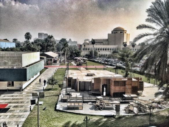 Panorámica de la Opera de El Cairo, en cuyo recinto se encontraba la sede del festival y se llevaban a cabo todas las proyecciones. / LUIS ROCA ARENCIBIA