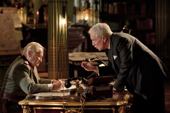 Niels Arestrup y  André Dussollier interpretan a los protagonistas de este interesante drama bélico ambientado en París en 1944.