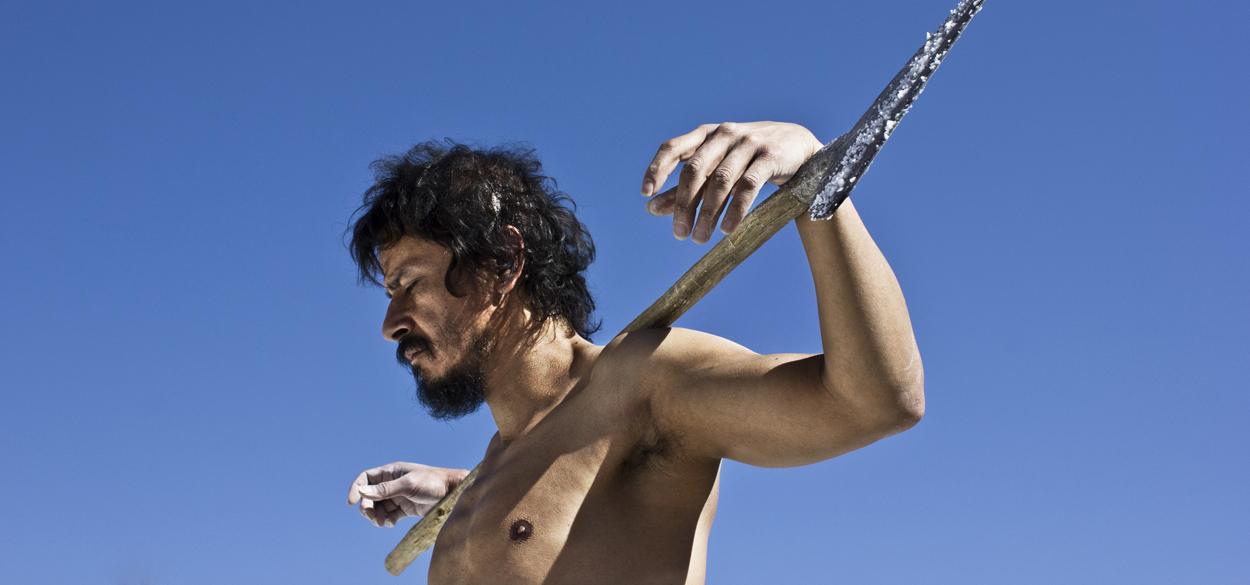 """En """"La Tirisia"""", Silvestre (Gustavo Sánchez Parra) es un salinero en Zapotiplán, lugar poco conocido incluso para los mejicanos, según confesión del propio director."""