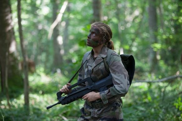 """Por su papel en """"Les combattants"""", Adèle Haenel obtuvo la Pirámide de Plata a la Mejor actriz en el festival."""