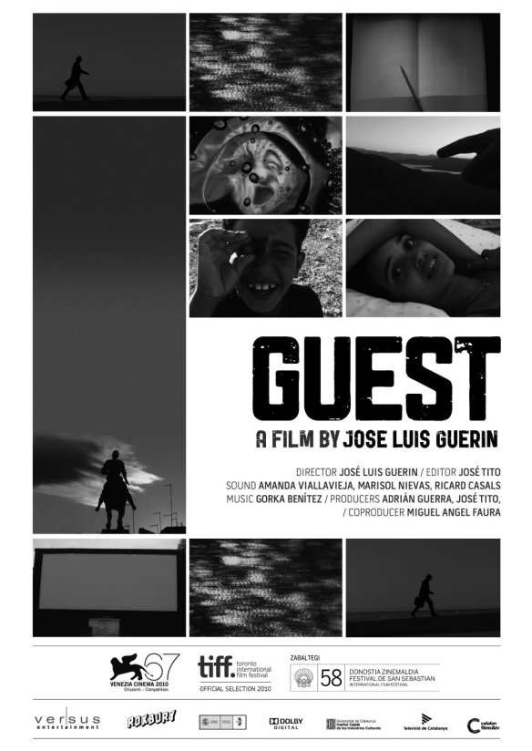 "Cartel del filme ""Guest"", de José Luis Guerín."