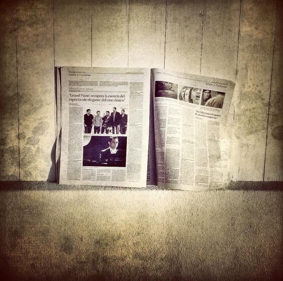 La entrevista, tal y como fue publicada en el periódico La Provincia. / LUIS ROCA ARENCIBIA