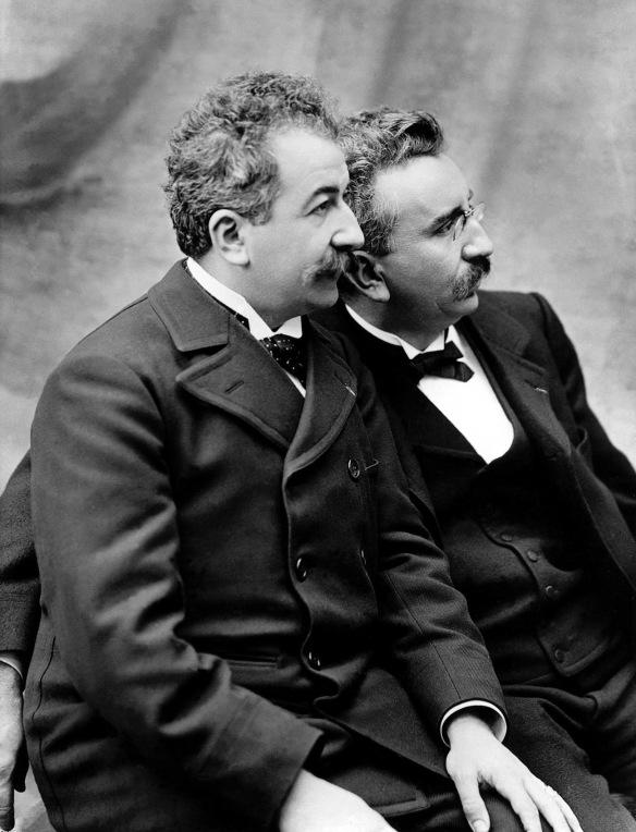Auguste y Louis Lumière. / INSTITUT LUMIÈRE