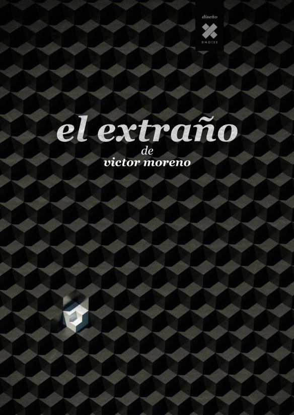 """Cartel de """"El extraño"""", cortometraje de Víctor Moreno."""