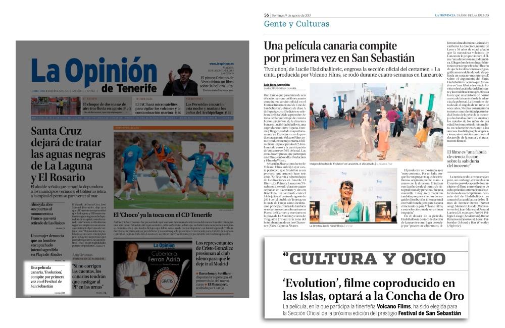 Canarias en el Festival Internacional de Cine de San Sebastián (4/4)