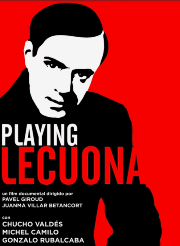 """Cartel promocional de """"Playing Lecuona"""" / INSULARIA CREACIONES"""