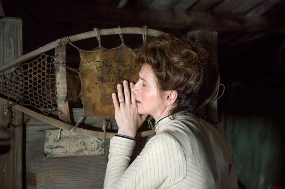 "Juliette Binoche, en un momento de ""Nadie quiere la noche"" / LEANDRO BETANCOR"