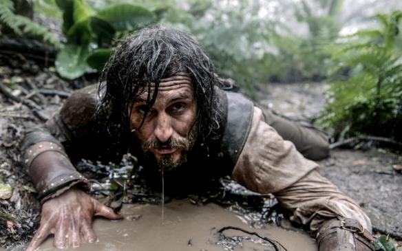 """Raúl Arévalo, en una fotografía del rodaje de """"Oro"""" en Canarias / OAC"""