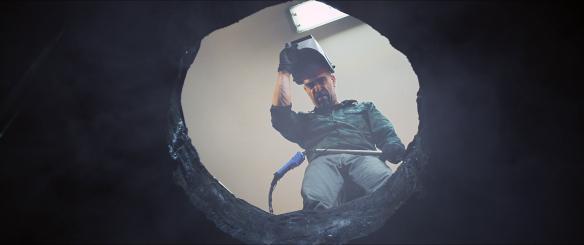 Luis Tosar, en un momento de la película. / OAC