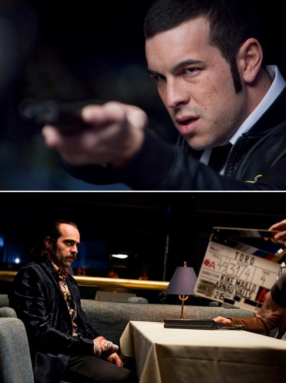 """Mario Casas (arriba) y Luis Tosar interpretan a dos hermanos en el thriller de acción """"Toro"""", de Kike Maíllo. / OAC"""