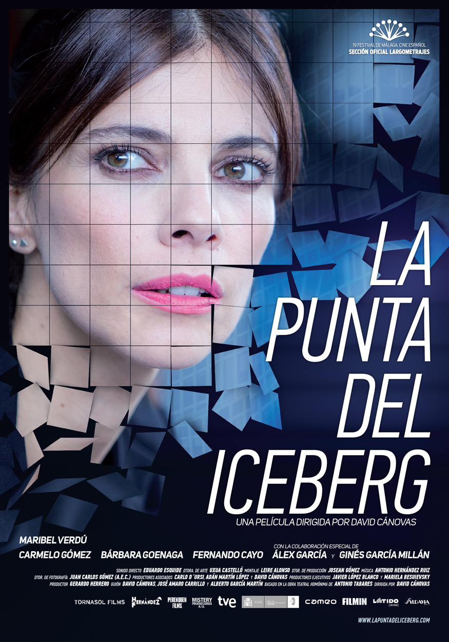 """Cartel de """"La punta del iceberg"""""""