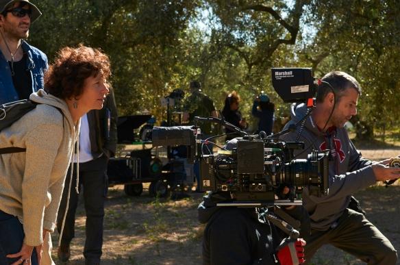 """Icíar Bollaín, en el rodaje de """"El olivo"""" / JOSÉ HARO"""