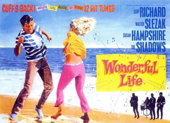 """Imagen promocional de """"Días maravillosos"""" (1964), comedia musical que trajo a Cliff Richard y Los Shadows a Las Palmas / OAC"""