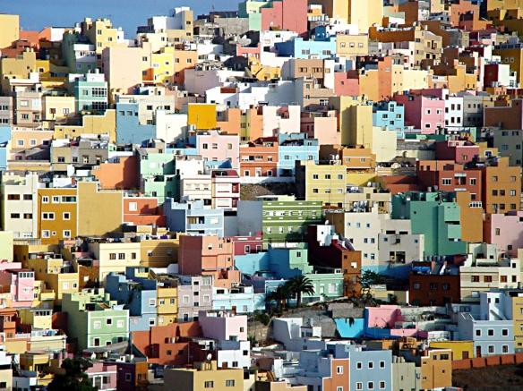 Vista del risco de San Juan, desde San Nicolás. / LUIS ROCA ARENCIBIA
