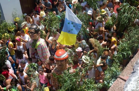 Fiesta de la Rama, el pasado 4 de agosto. / CHECHU GRAF