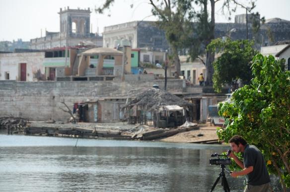 Ayoze O'Shanahan rodando en la bahía de Gibara (Cuba) / OAC