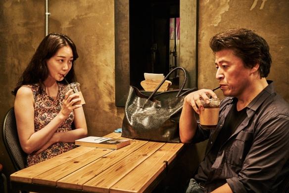 """Un momento de """"Lo tuyo y tú"""", Concha de Plata al Mejor Director para Hong SangHoo. / OAC"""