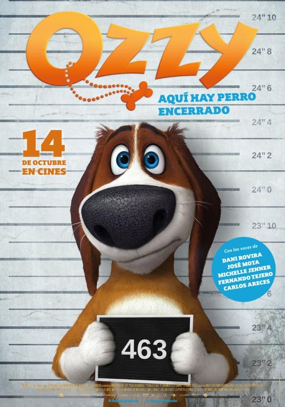 Cartel de Ozzy, dirigida por Alberto Rodríguez. / OAC